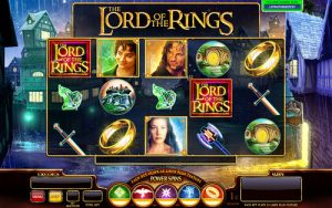 Lord of the Rings online Pokie